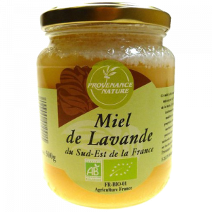 Miel de Lavande Provenance Nature BIO